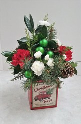Vintage Christmas from Aladdin's Floral in Idaho Falls