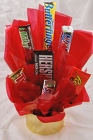 Aladdin's Candy Bar Bouquet