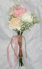 Sweet and Rustic Bridesmaid Bouquet from Aladdin's Floral in Idaho Falls