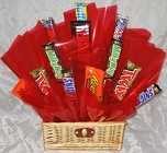 Candy Bar Basket Bouquet