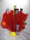 Bright Candy Bar Bouquet from Aladdin's Floral in Idaho Falls