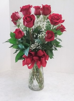 A Dozen Red Roses  from Aladdin's Floral in Idaho Falls
