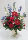 Timeless Patriotic Tribute from Aladdin's Floral in Idaho Falls