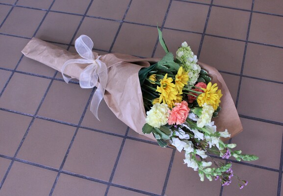 Wrapped Bouquet from Aladdin's Floral in Idaho Falls
